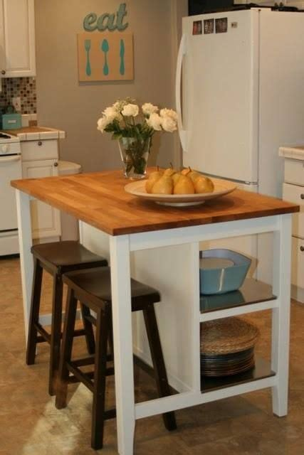 Small Rolling Kitchen Island by Best 25 Rolling Kitchen Island Ideas On