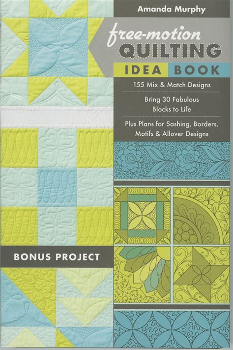 Free Motion Quilting Books by Quilting Books