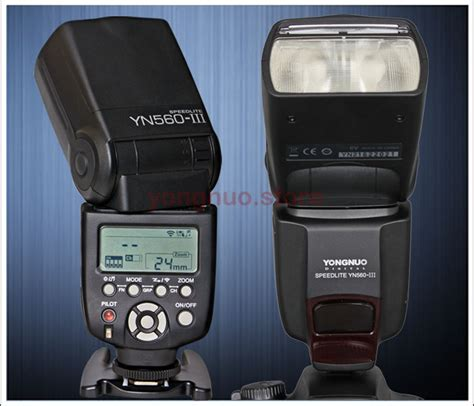 Flash Speedlite Yn 560iii yongnuo upgraded yn 560 iii wireless flash speedlite w built in 2 4ghz radio ebay
