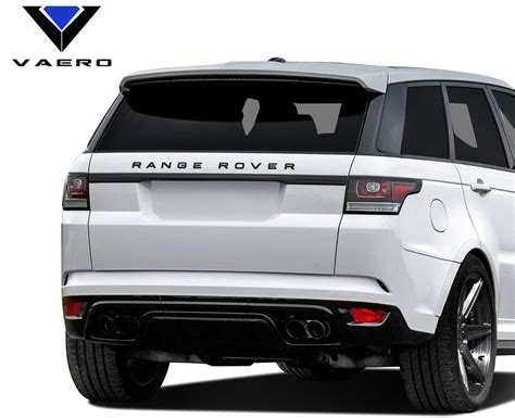 vaero polypropylene land rover svr look rear bumper
