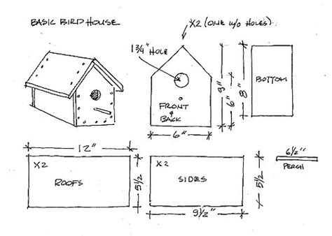 wren house plans wren house plans bird house plans