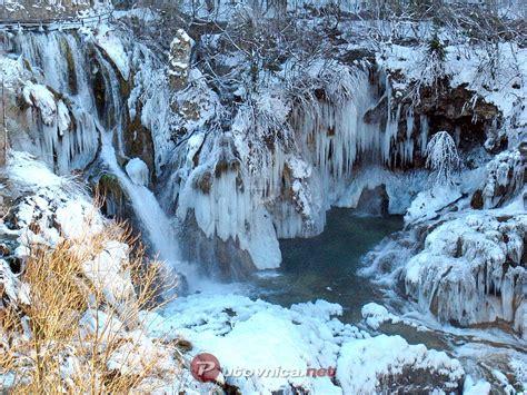 plitvicka jezera zima na plitvicama  slike na