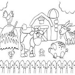 Pics Photos  Farm Coloring Pages sketch template