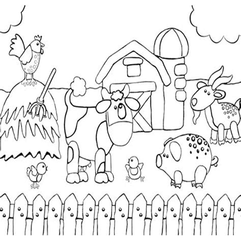 all farm animals coloring pages color on pages coloring