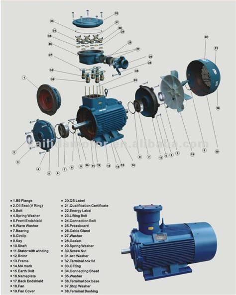 value motor spares ac motor spare parts view motor part kailida product