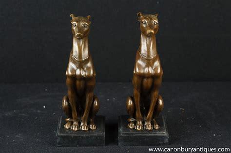 Lackierung Auf Französisch by Paar Franz 246 Sisch Art Deco Bronze Windhundrennen Windhund
