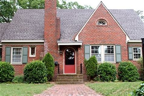 brick house green shutters paint interior exterior house tours trim