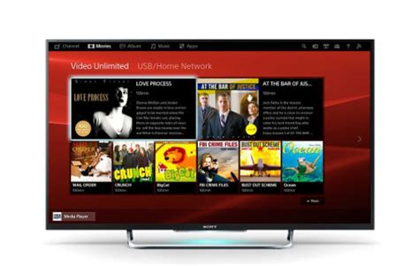 Tv Led Sony W600b 40 48 and 60 inch led flat screen tv w600b sony us