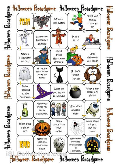 best printable board games 7 best images of halloween printable board games free
