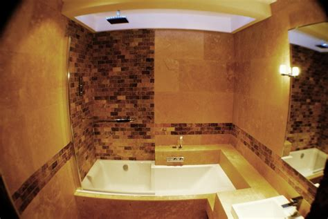 Travertine Tiles Bathroom Designs by Bathroom With Travertine Tiles