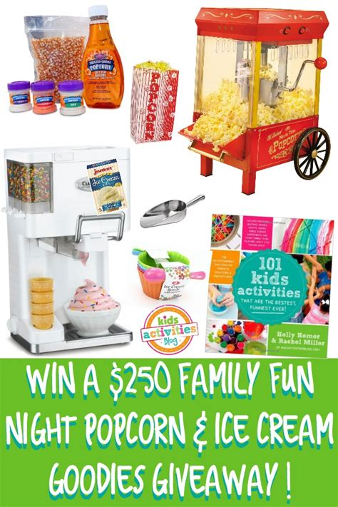 ends meet with a popcorn popper books win a 250 family with popcorn and