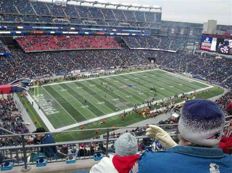 section 236 gillette stadium gillette stadium home of new england patriots new