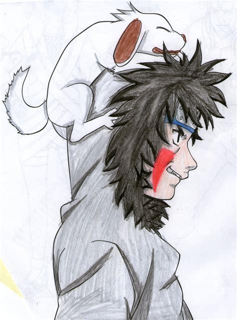 painting kiba kiba inuzuka by yuri12inuzuka on deviantart