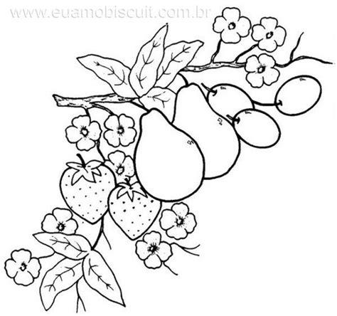 imagenes para pintar sobre tela dibujos para bordar a mano frutas imagui frutas y