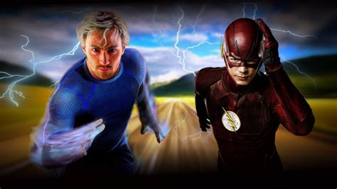 movie quicksilver vs flash flash vs quicksilver