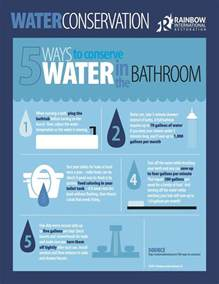 5 ways to conserve water in the bathroom rainbow