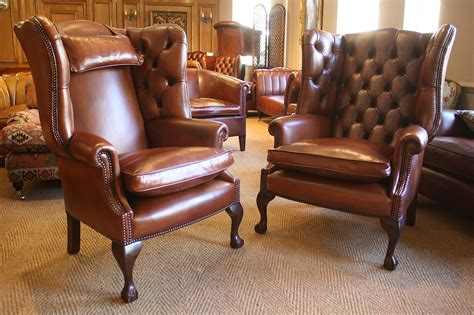 Leather Sofa Chairs by Leather Chairs Of Bath Bespoke Pair Of Georgian Leather