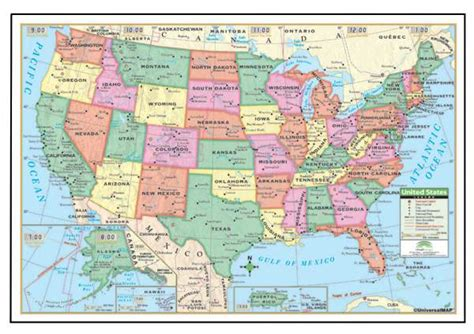 map usa rolled u s rolled map paper 40 quot x 28 quot 013431 details rainbow