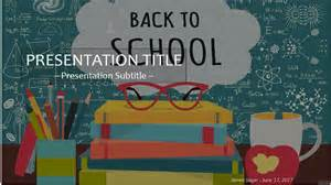 Back To School Powerpoint Template by Back To School Powerpoint Template 4168 Free Back To