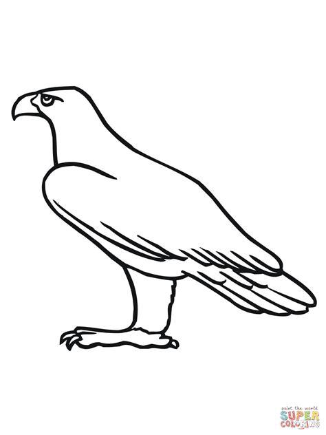 golden eagle coloring online
