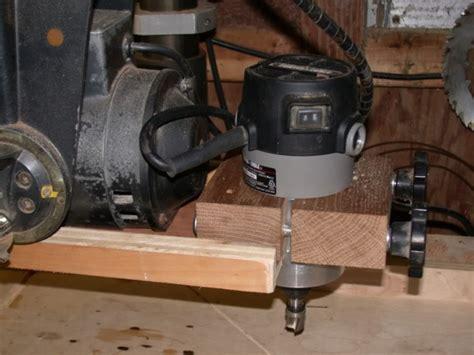 craftsman  radial arm  woodworking talk