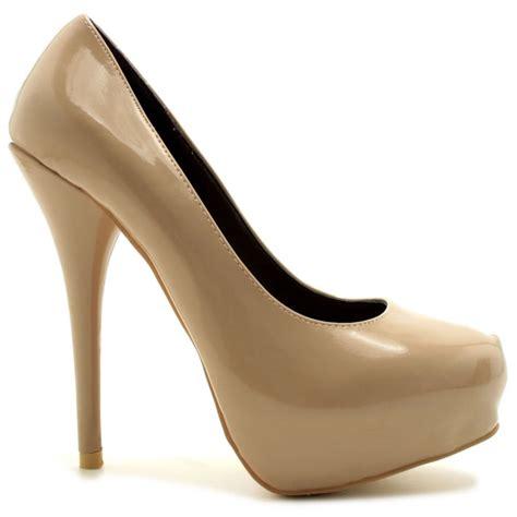 platform stiletto heel court shoes from