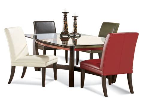 glass dining room furniture dining sets for small areas rectangular glass dining room