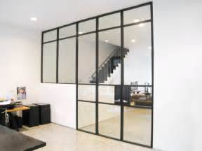 Glass wall loft style architectural design process digital design