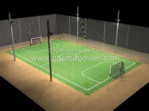 illuminazione ci da calcio vendita fari led ci calcetto e tennis pgp led power roma