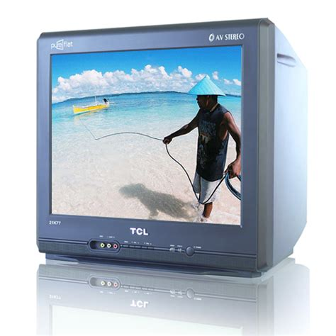 Tv Tcl 21 Inch Flat tcl 21k77 21 quot flat crt color tv with free stand fan cebu appliance center