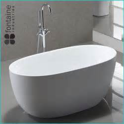 Compact Shower Baths Ariana Freestanding Bath 1400 Fontaine Industries