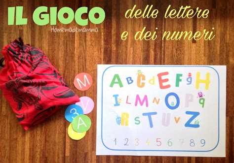 gioco delle lettere giochi con i numeri