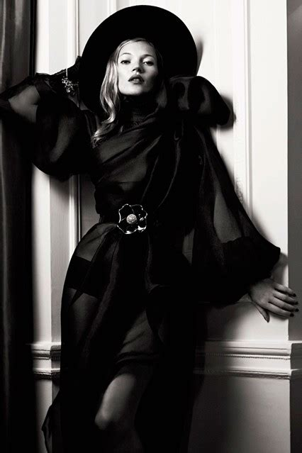 Kate Moss Named Model Of The Year by Fashion House South Kate Moss Named Hat Wearer Of The Year