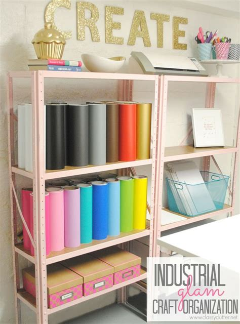 room organiser 20 craft room organization ideas