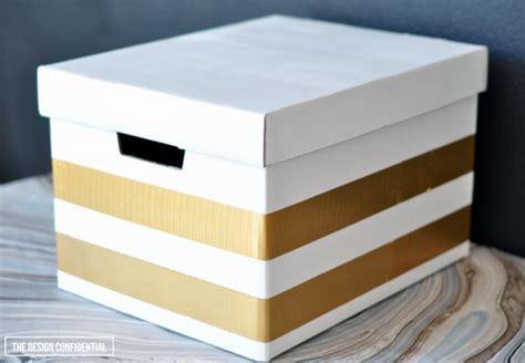diy storage box ideas iheart organizing diy decorative storage box ideas