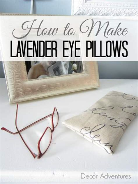 How To Make A Lavender Eye Pillow by How To Make Lavender Eye Pillows 187 Decor Adventures