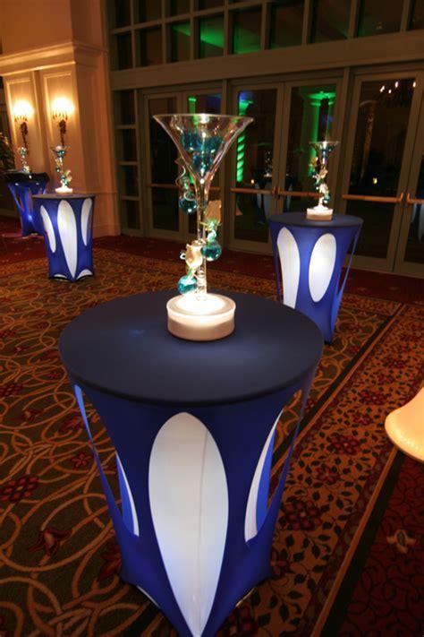 Wedding Decor: Cocktail Table Lighting
