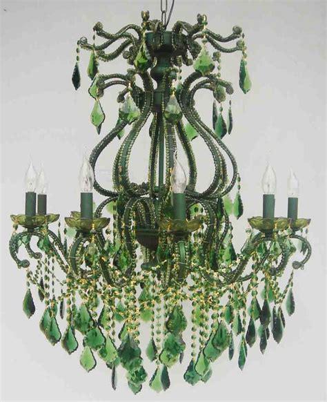 green chandelier crystals green chandelier chandeliers