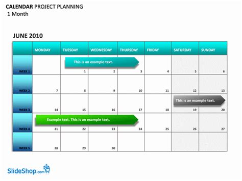 project planning calendar planners templates