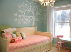 Daybed Bedroom Ideas Girls Bedroom In Blue And Pink With The Casey Daybed