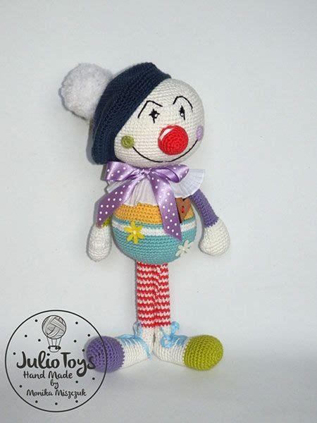 julio toys crochet patterns amigurumi 17 best images about clowns on pinterest free pattern