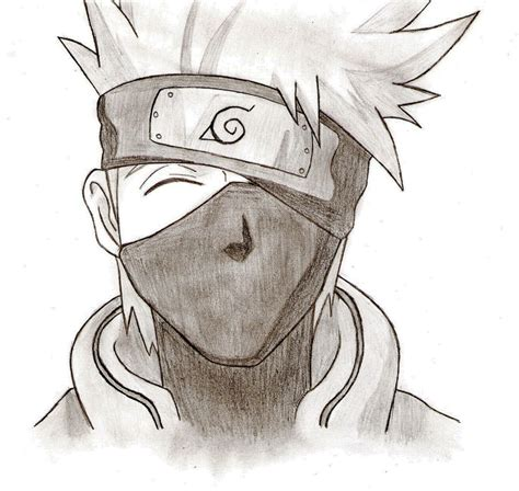 Drawing Kakashi kakashi hatake by cheshire5 on deviantart