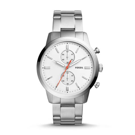 Fossil Miller 1032 Fs fossil townsman chronograph stainless steel fs5346p