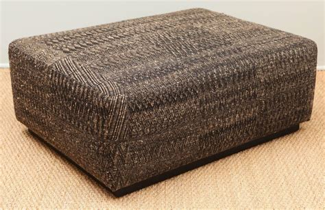 fabric covered ottoman fabric covered ottomans ottoman covered with handwoven