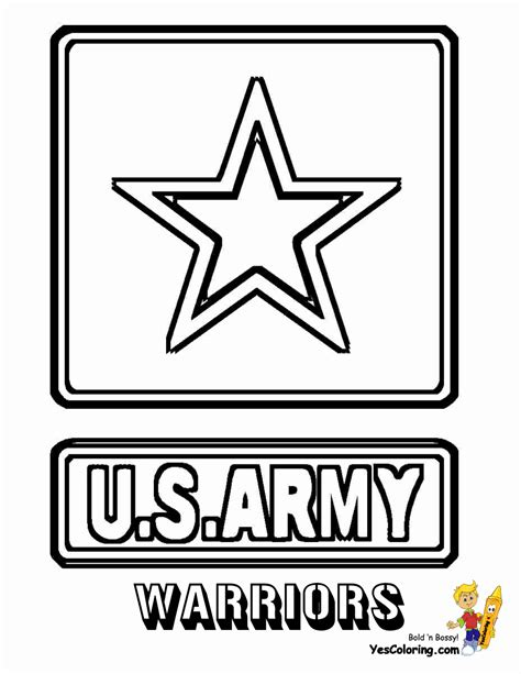 army colouring pages