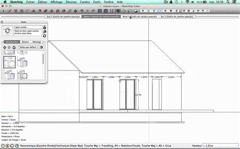 Echelle Plan Maison tutorial sketchup dessiner sa maison n 176 7 editer les