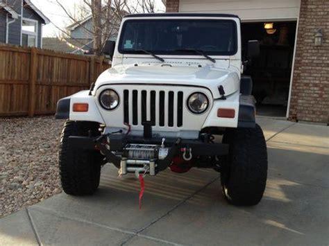 Jeep Wrangler Lockers Sell Used Jeep Wrangler Sport 4 0l 6 Cyl 5 Sp Hardtop