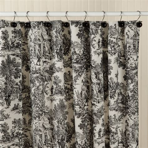shower curtains black shower curtains toile fa123456fa