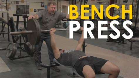 starting weight for bench press mark rippetoe author of starting strength shows brett how to bench press correctly be sure to