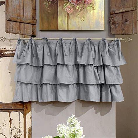 vorhang grau baumwolle vorhang gardine scheibengardine bistrogardine landhaus